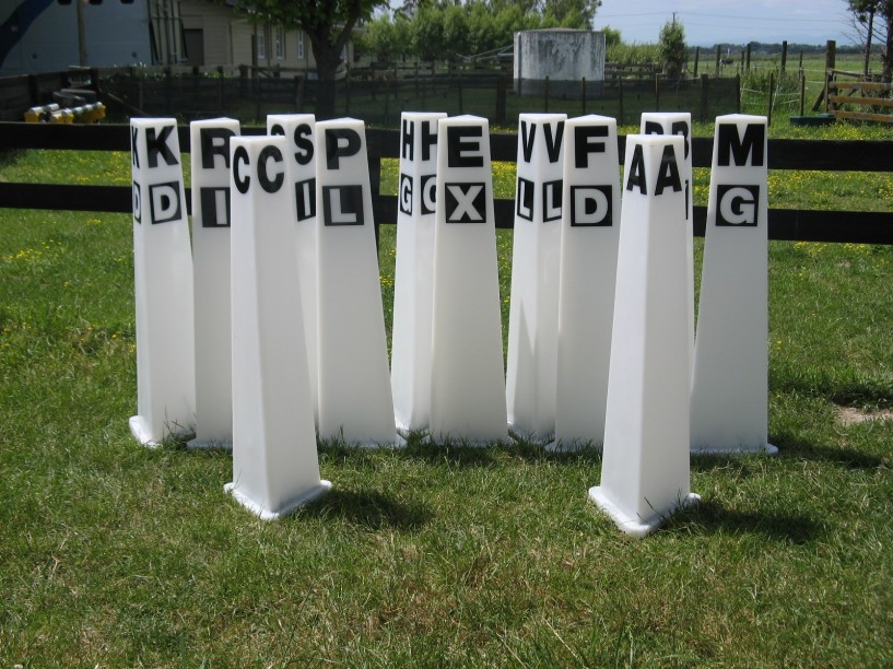 Dressage Arena Markers The Jump Company